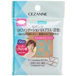 Cezanne UV Foundation EX Plus SPF23 PA++ (Refill) 11g No.02 Light Ochre