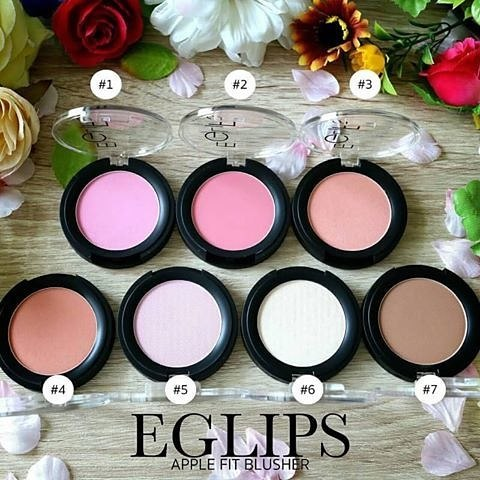 Eglips Apple Fit Blusher 4g.สี #6 Highlither
