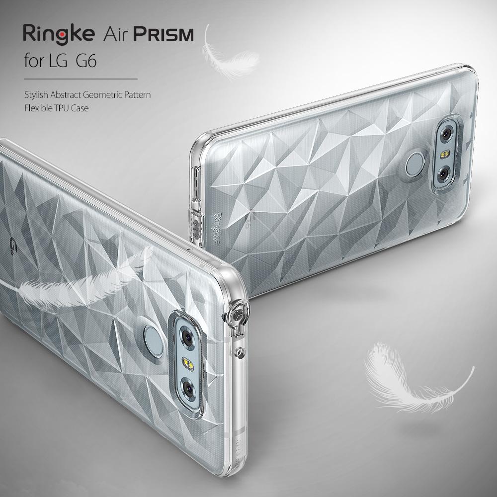 เคสใสกันกระแทก Rearth Ringke Air Prism LG G6