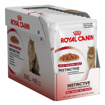 Royal Canin Instinctive in Jelly 85กรัมX12