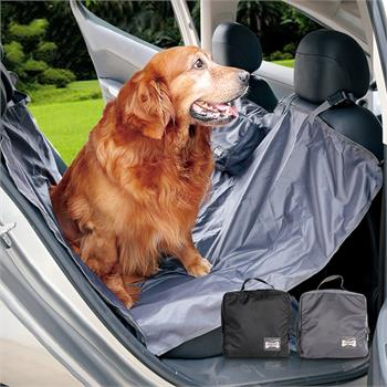 ผ้ารองเบาะกันเปื้อนในรถยนต์เบาะหลังพกพาแบบพับเก็บได้