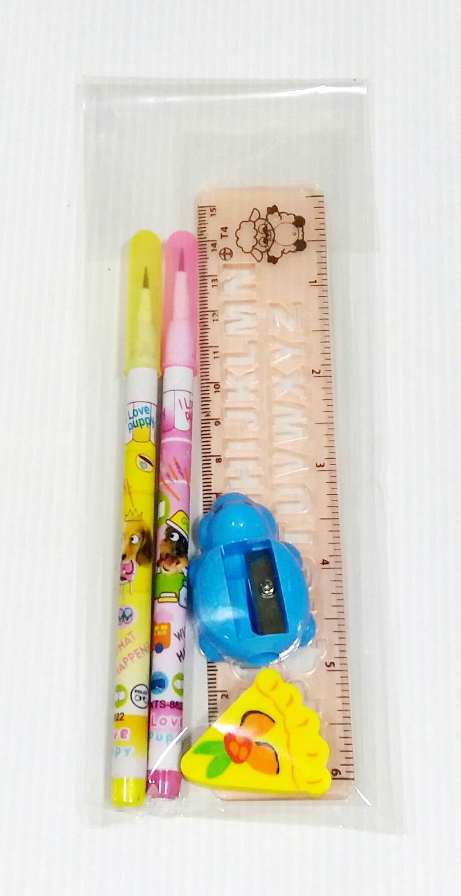 ชุดเครื่องเขียนดินสอต่อไส้110บาทต่อโหล