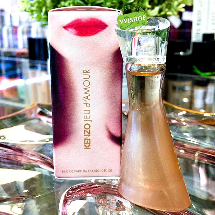 Kenzo Jeu d'Amour 4 ml. น้ำหอม ที่มีกลิ่นหอม สะอาดสดชื่น