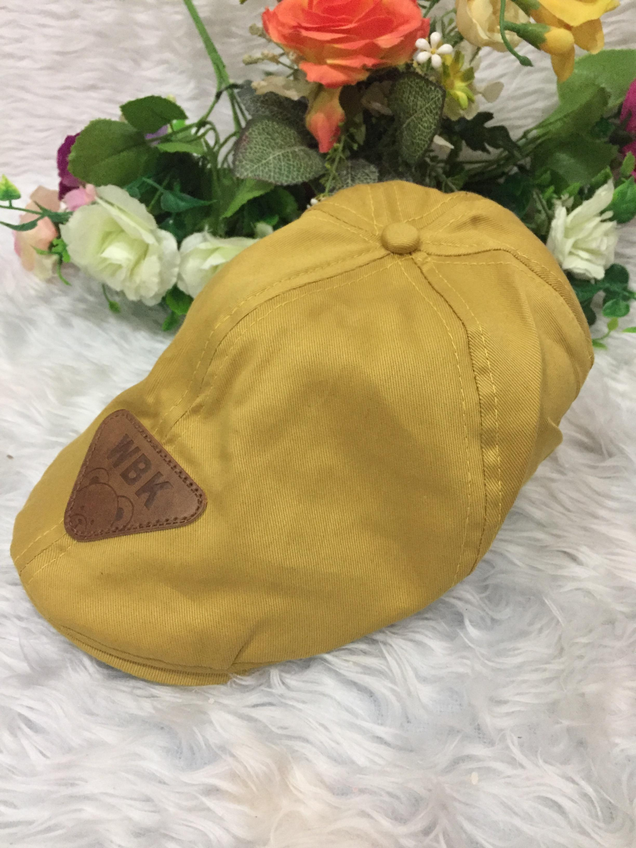 หมวกทรงเบสบอล-สีเหลือง