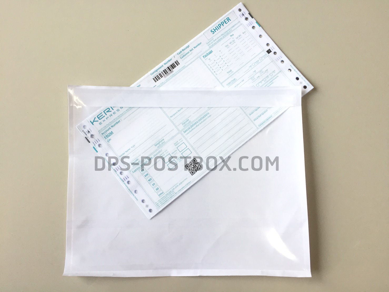 ซองกาว Packing List