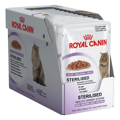 Royal Canin Sterilised in Jelly 85กรัมX12