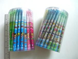 ดินสอต่อไส้ลายการ์ตูน 72แท่ง 85 บาท