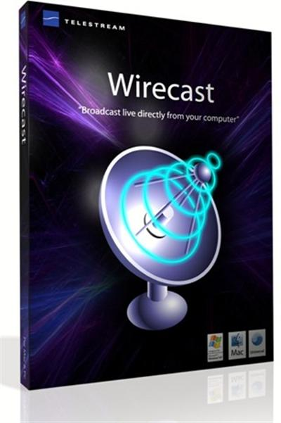 Telestrem Wirecast Studio 6 - Mac/Win