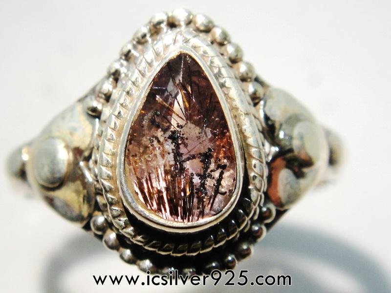 ▽ซุเปอร์เซเว่น Super Seven 7 - แหวนเงินแท้ 925 (แหวนเบอร์ : 58)