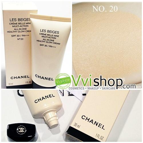 Chanel Les Beiges All-in-One Healthy Glow Cream SPF 30 PA+++ 30 ml. # 20 ผิวขาวเหลือง ถึงผิวสีกลางๆ (ขนาดปกติ In box)