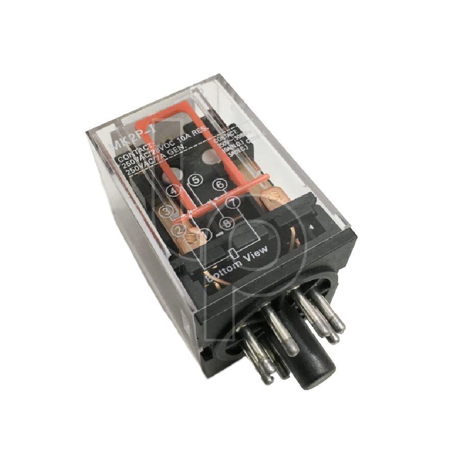 รีเลย์ 220-240V 8 ขา 10A MK2P-I