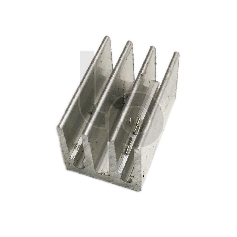 ฮีทซิงค์ระบายความร้อน ขนาด 1.5x2.5 cm.