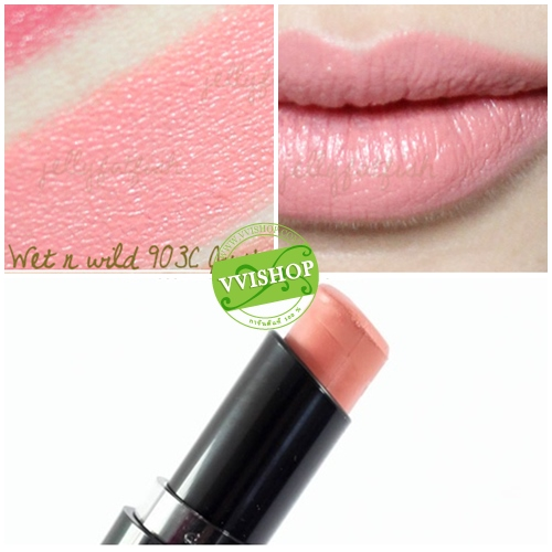 Wet n Wild Mega Last Lip Color 3.3 g # 903C Just Peach สีพีช อมนู๊ดนิดๆ ลิป คุณภาพดีเกินราคา