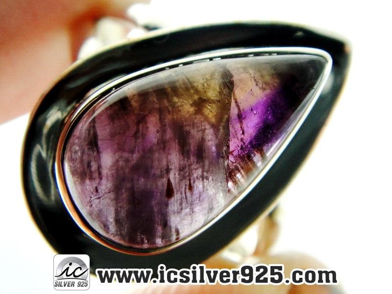 ▽ซุเปอร์เซเว่น Super Seven 7 - แหวนเงินแท้ 925 (แหวนเบอร์ : 55)