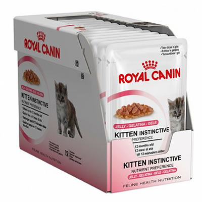 Royal Canin Kitten Instinctive in Jelly 85กรัมX12