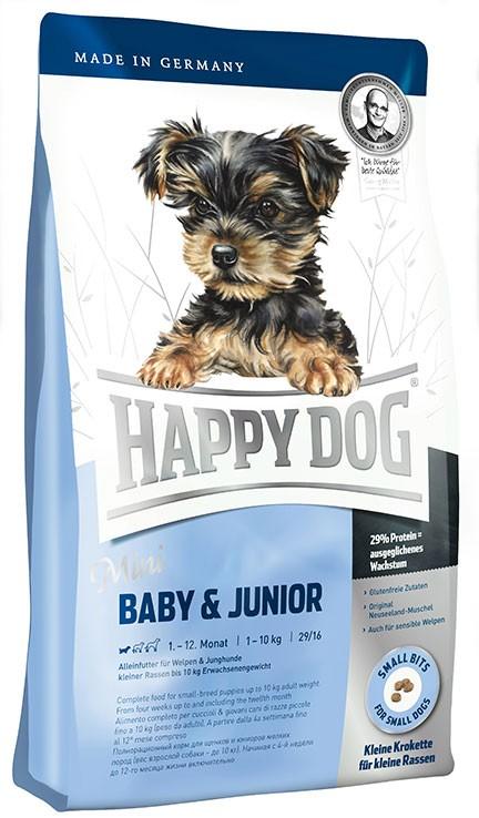 Happy Dog Mini Baby & Junior ลูกสุนัขพันธุ์เล็ก