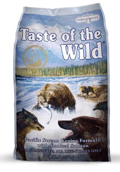เทสต์ ออฟ เดอะ ไวลด์ สูตรแซลมอนรมควัน Taste of the Wild with smoked salmon