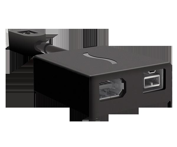 FireWire 800 to 800/400 Mini Hub