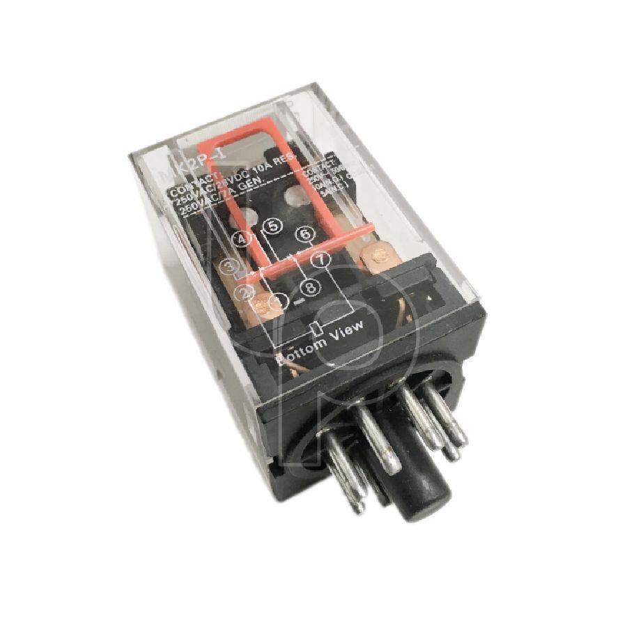 รีเลย์ 12V 8 ขา 10A MK2P-I