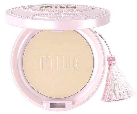 Mille Aura Pearl Pact Spf25PA++ ปริมาณ11g. No.1 Light ผิวขาวเหลือง