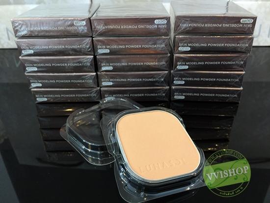 Lunasol Skin Modeling Powder Foundation SPF20 PA++ 10.5g (Refill) # OC03 แป้งรองพื้น บางเบา ปกปิด (Inbox เคาน์เตอร์ไทย)