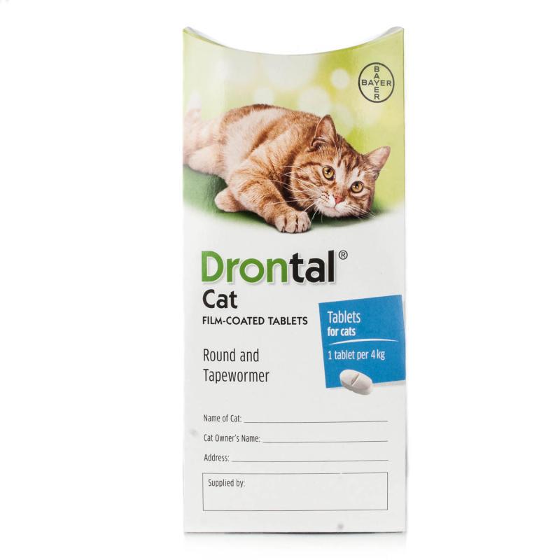 ดรอนทัลแคท Drontal Cat ยาถ่ายพยาธิแมว