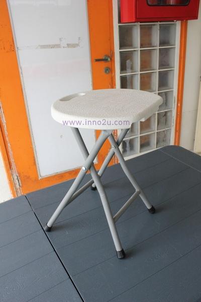 เก้าอี้เดี่ยวพับได้ ไม่มีพนักพิง KOMMET HDPE รุ่น HDC-011W