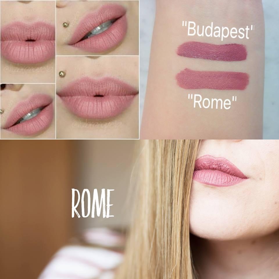NYX Soft Matte Lip Cream 6.5g # SMLC 32 Rome ลิปครีม เนื้อแมท นุ่ม สีติดทนนาน ไม่แห้งด้าน