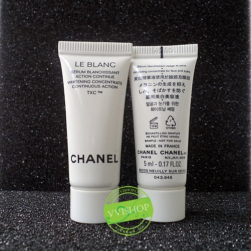 Chanel Le Blanc Whitening Moisturizing Cream TXC Creme Fine 5 ml. ครีมมอบผิวขาวใสได้อย่างมีประสิทธิภาพ *พร้อมส่ง*