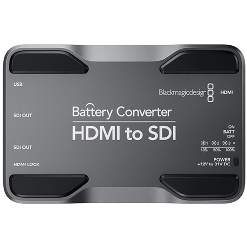 Blackmagic Design HDMI to SDI Battery Converter กล่องแปลงสัญญาณเข้า HDMI ออก SDI 2 outputs มีแบตเตอรี่