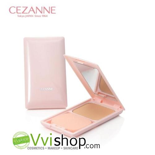 Cezanne Ultra Cover UV Foundation II SPF35 PA+++ Matte (Smooth) 11 g พร้อมตลับ # 1 Cream Beige ผิวขาวมาก-ขาวอมชมพู แป้งพัฟ เน้นปกปิด คุมมัน