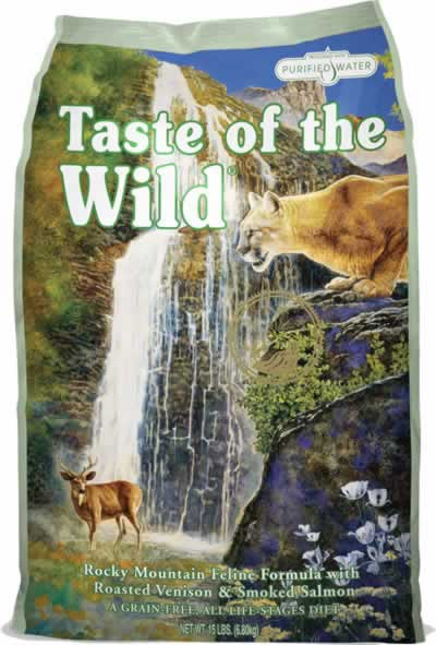 Taste of The Wild Cat Food Rocky Mountain