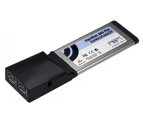 FireWire 800 ExpressCard/34 (2 ports)
