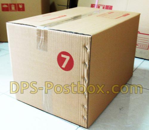 กล่องไปรษณีย์แบบฝาชน ไซด์ 7