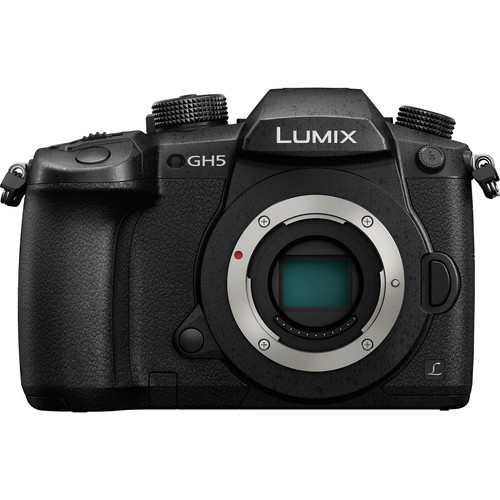 Panasonic Lumix DC-GH5 Mirrorless Micro Four Thirds Digital Camera Body Only