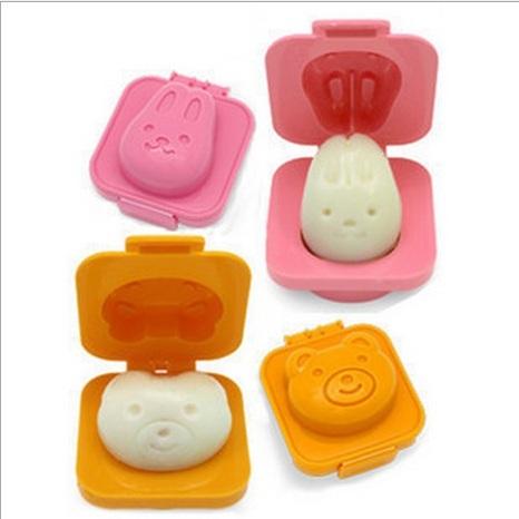 แม่พิมพ์ข้าวไข่ กระต่ายหมี 3ชิ้น100