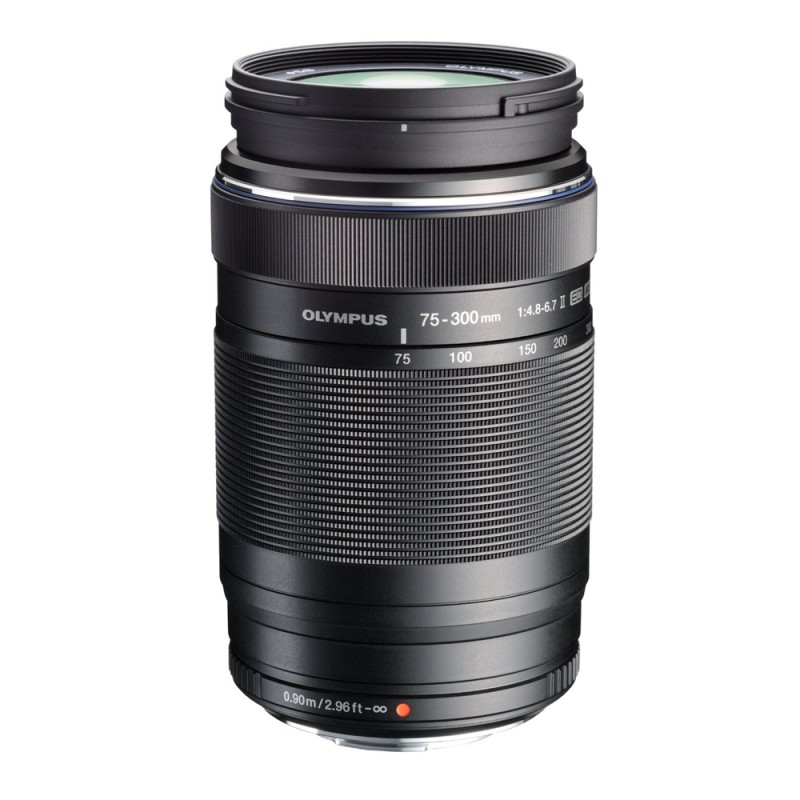 Olympus EZ-M7530-2 M.Zuiko Digital 75-300mm f4.8-6.7II Telephoto Lens