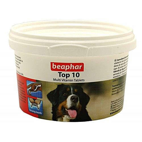 Beaphar บีฟาร์ - Top 10 วิตามินรวมและเกลือแร่ชนิดเม็ดสำหรับสุนัข