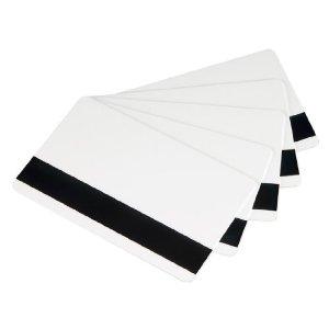 บัตรแถบแม่เหล็กเปล่าสีขาว พิมพ์บัตรได้