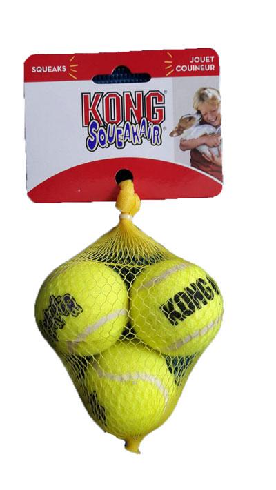 """ลูกเทนนิส Kong ขนาดเล็ก 3 ลูก (Small 2"""")"""
