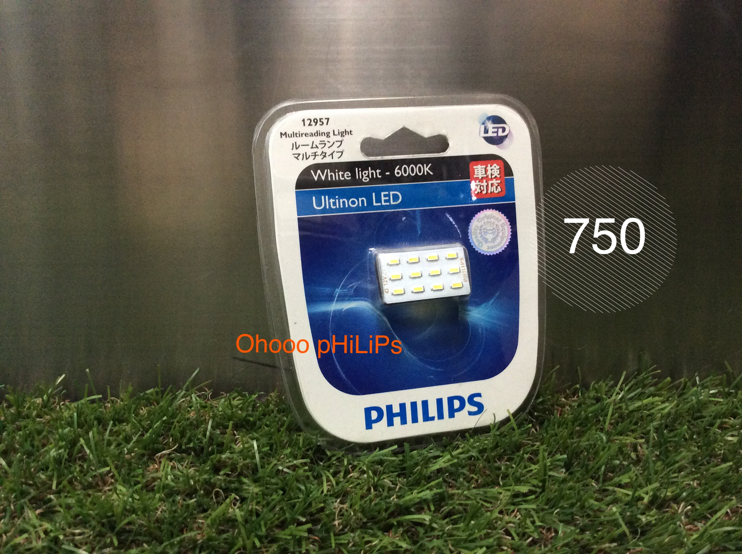 Philips LED Festoon 12 เม็ด 6000K