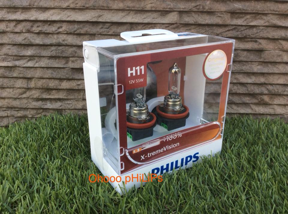 Philips X-treme Vision+100% H11