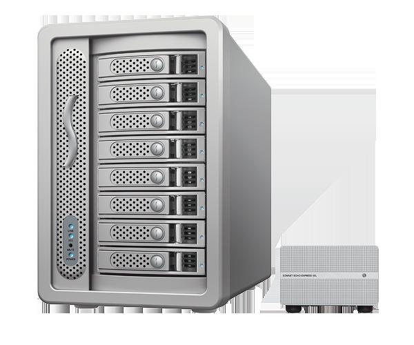 Fusion DX800RAID (Thunderbolt 2 Edition) (24TB)