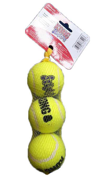 """ลูกเทนนิส Kong ขนาดกลาง 3 ลูก (Medium 2.75"""")"""
