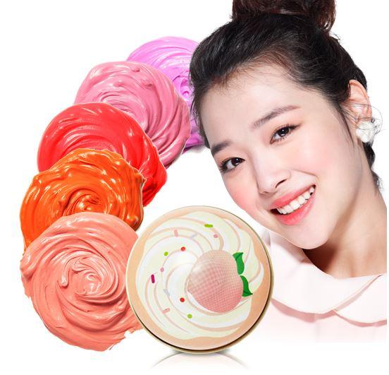 พร้อมส่ง Etude House Sweet Recipe Cupcake All Over Color ครีมเมคอัพอเนกประสงค์ 3in1 สีสันสุดน่ารัก เป็นได้ทั้งบรัชออน อายแชโดว์ และลิปสติก