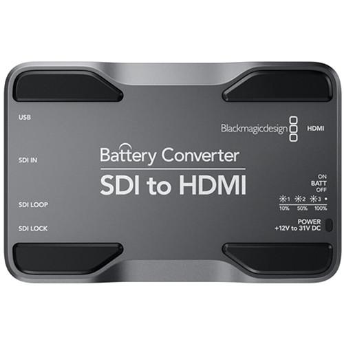 Blackmagic Design SDI to HDMI Battery Converter กล่องแปลงสัญญาณ เข้า SDI ออก HDMI มีแบตเตอรี่