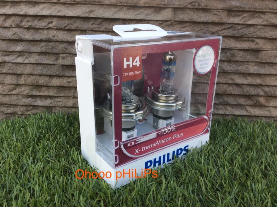 Philips X-treme Vision Plus+130% H4