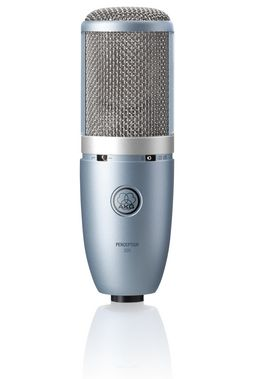 AKG PERCEPTION 220 Professional Studio Microphone for general purpose with one inch true condenser large diaphragm capsule.