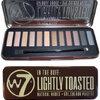 พร้อมส่ง W7 IN The Buff : Lightly Toasted Natural Nudes Eye Colour Palette อายแชโดว์พาเล็ตโทน น้ำตาลธรรมชาติ 12 เฉดสี ฝาแฝด Naked1 เนื้อแน่น สีสวยคมชัดติดทนยาวนาน