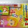 ชุดระบายสีเทียนดินสอเหลา12ชุด 180บาท